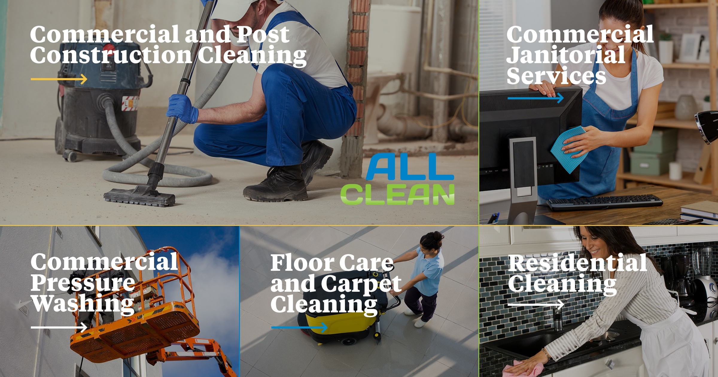 All Clean Commercial Residential Cleaning In Gainesville Since 1969