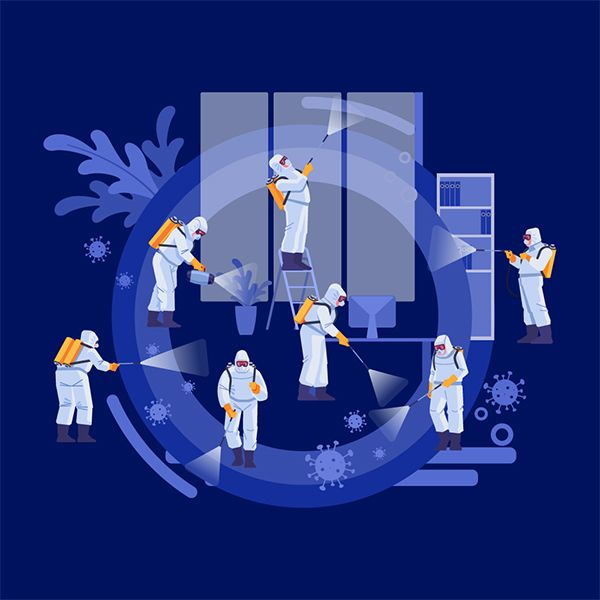 Commercial & Residential Coronavirus (Covid-19) Cleaning Services in Gainesville, FL.